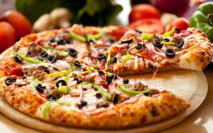an nahrungsmitteln monatlich sparen pizza essen