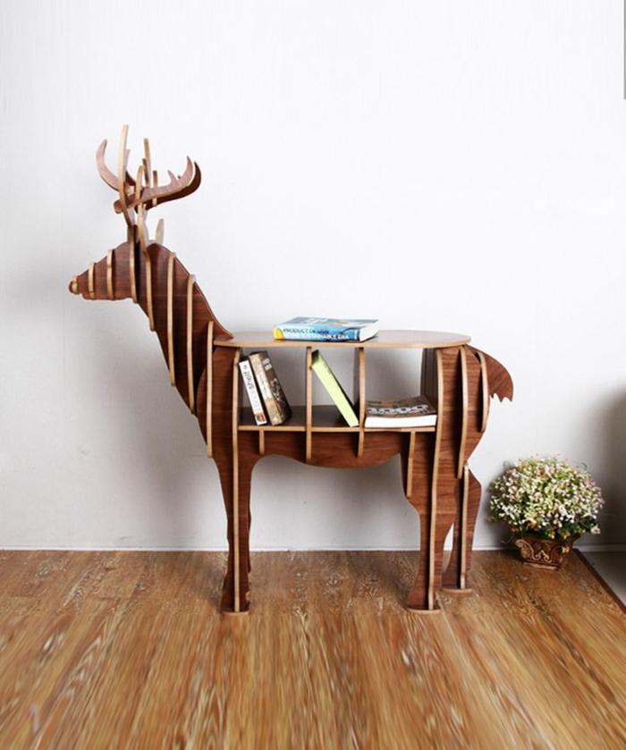 ausgefallene möbel designermöbel beistelltisch bücherregal avantgarde