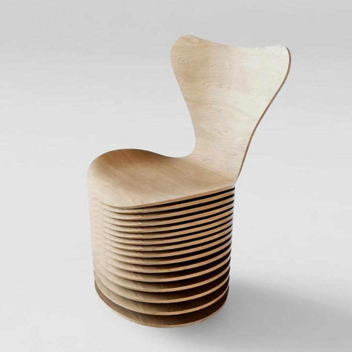 ausgefallene möbel echtholz möbel designer stühle