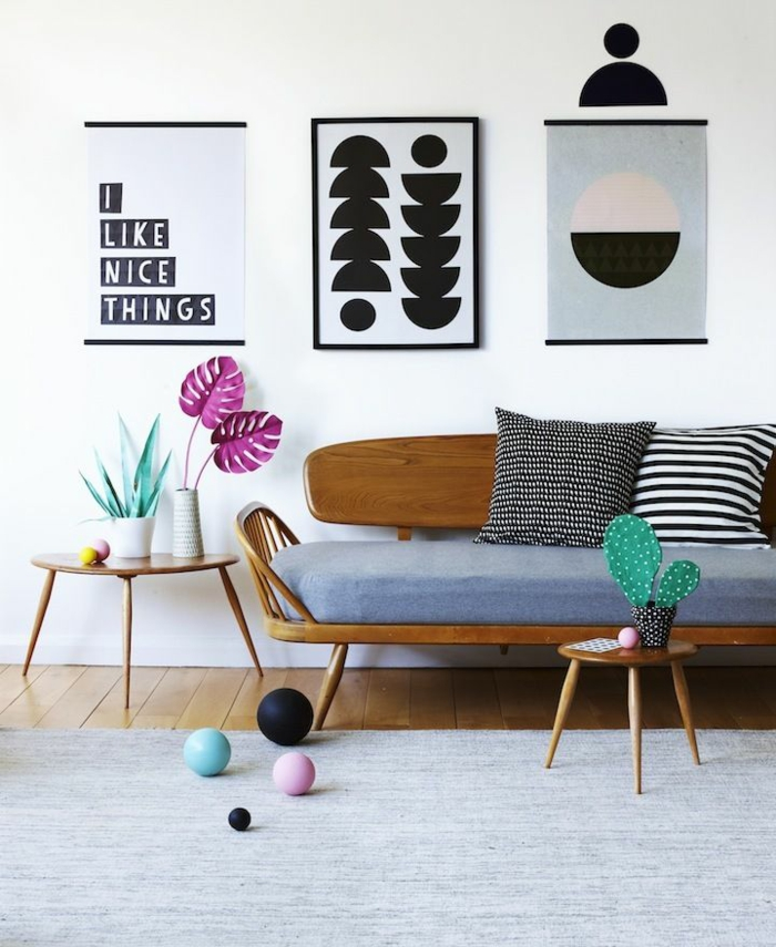 ausgefallene m bel in 4 stilen skandinavisch retro avantgarde industrial. Black Bedroom Furniture Sets. Home Design Ideas
