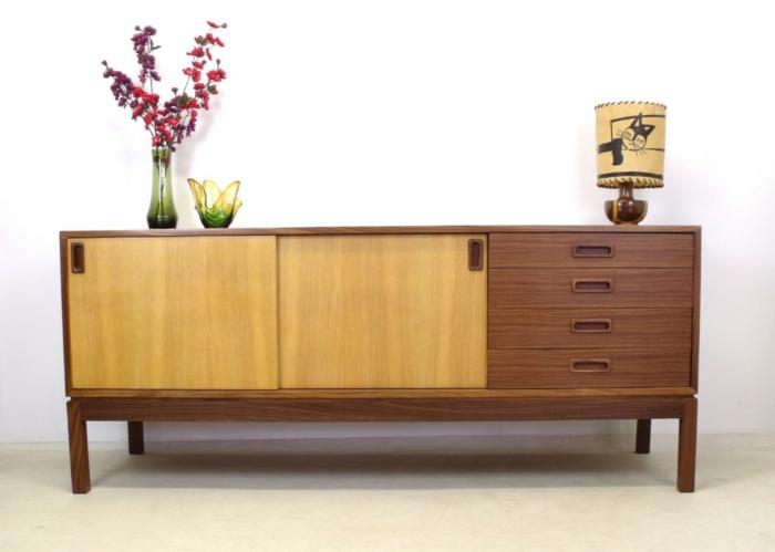 ausgefallene möbel retro design echtholz möbel kommode