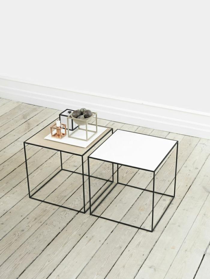 ausgefallene möbel skandinavisches design tische hell