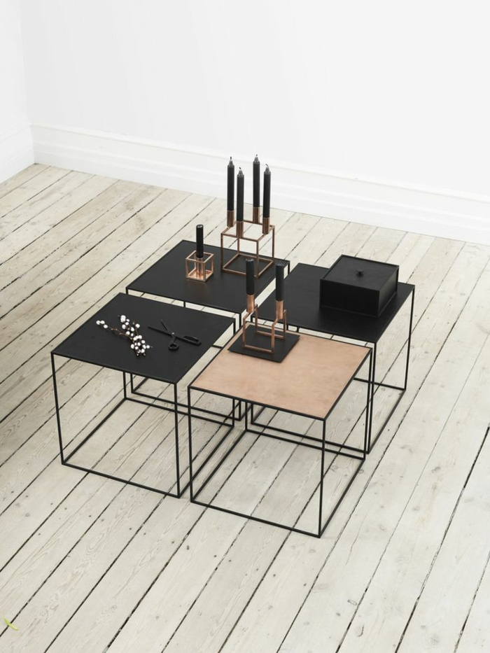 ausgefallene möbel skandinavisches design tische
