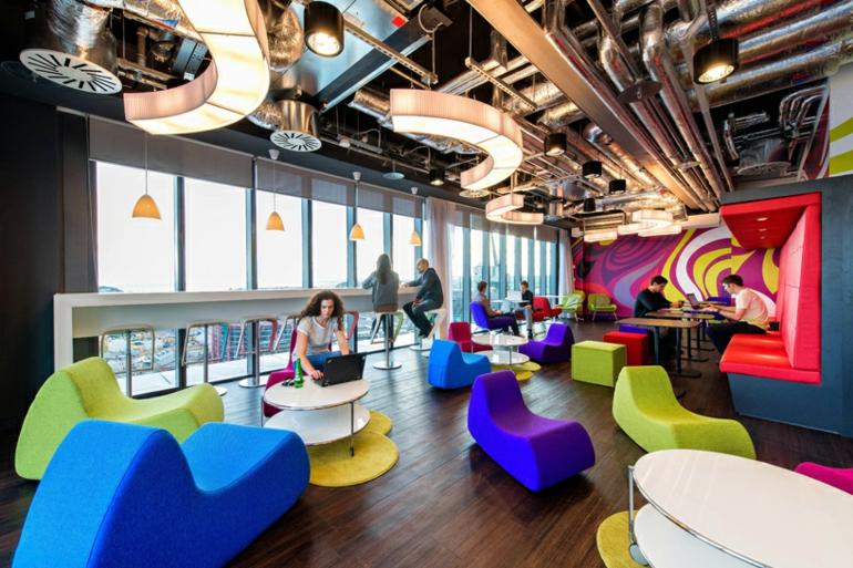 büroeinrichtung google campus dublin stress am arbeitsplatz