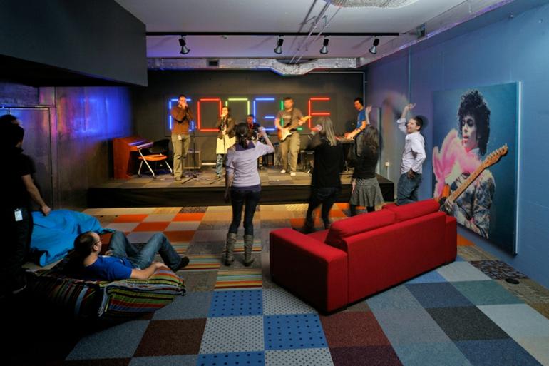 büroeinrichtung google zurich stress am arbeitsplatz saal für spiele
