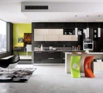 barhocker f r k che gestalten sie den bereich um die k cheninsel. Black Bedroom Furniture Sets. Home Design Ideas