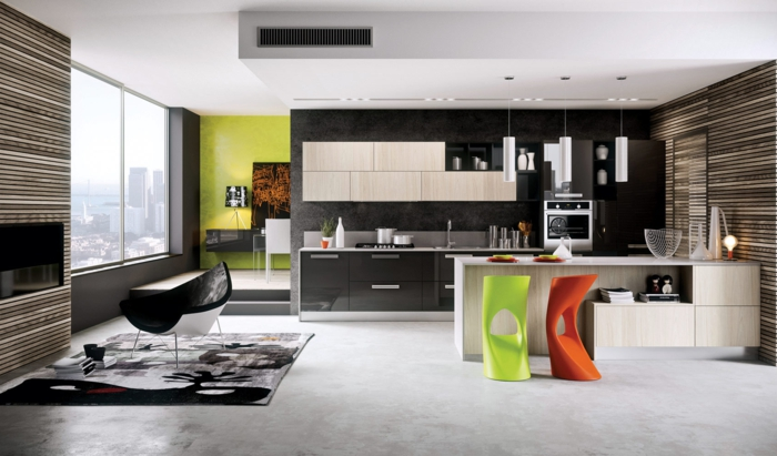 wohnzimmer farbig gestalten ~ seldeon = innen-wohnzimmer, Wohnzimmer dekoo