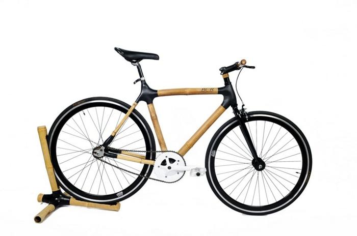 bcb stylische fahrräder nachhaltiges design bambus carbon schwarz