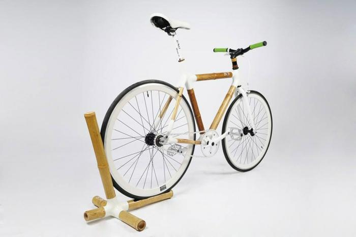 bcb stylische fahrräder nachhaltiges design bambus carbon weiß
