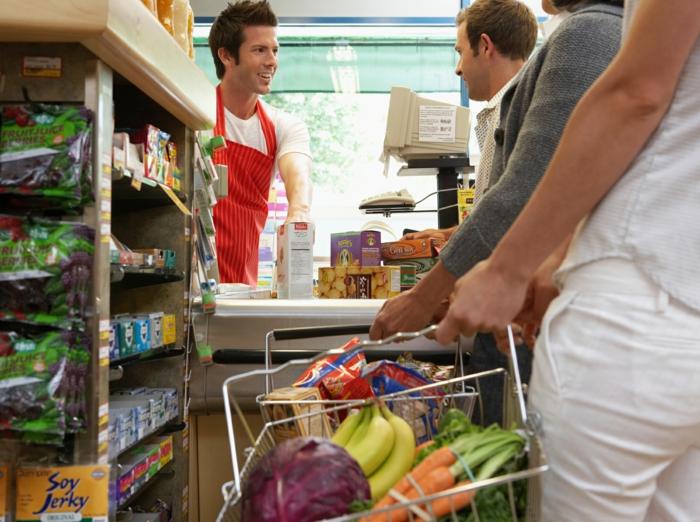 Billig Einkaufen Lebensmittel