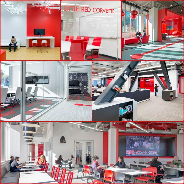 comcast büro von design blitz moderne büroeinrichtung rot