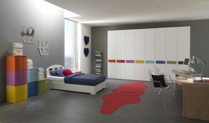 coole jugendzimmer ideen farbgestaltung ideen