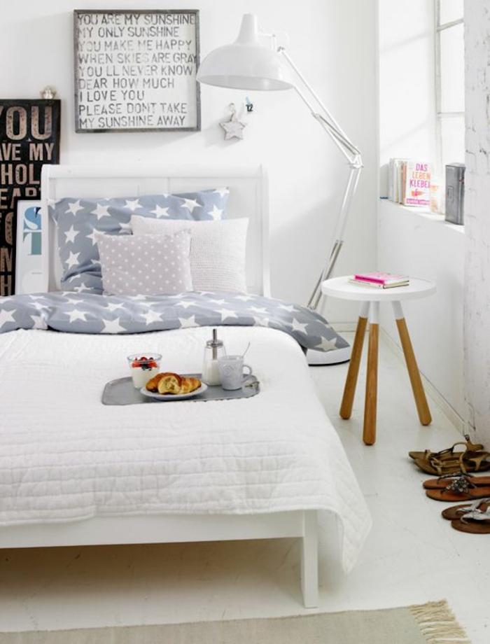 coole jugendzimmer ideen in weiß skandinavisches design