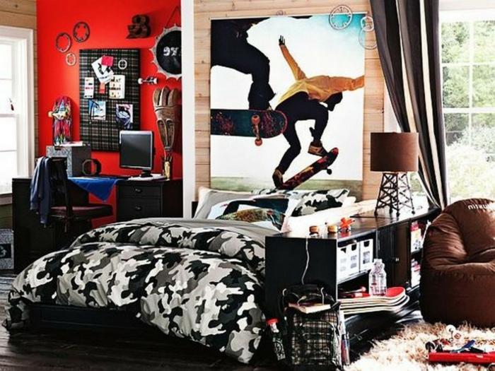 Coole Wandgestaltung Jugendzimmer : Coole Jugendzimmer als Beispiel für Organisation und Ordnung
