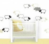 Individuelles Wandtattoo im Kinderzimmer auswählen