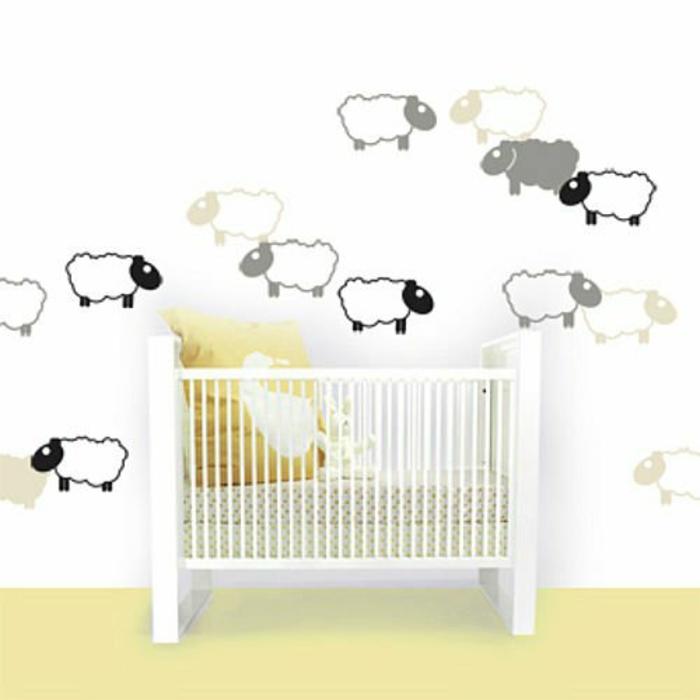 individuelles wandtattoo im kinderzimmer auswählen, Schlafzimmer design