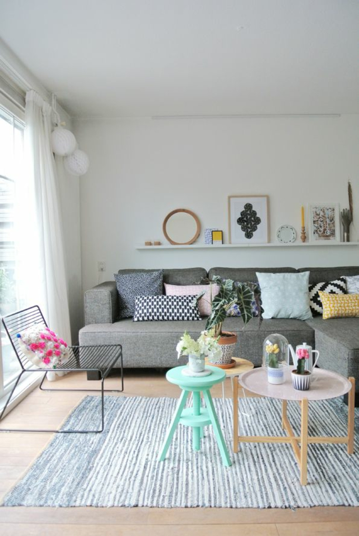 couch 3 sitzer wohnzimmer möbel design sofa beistelltische