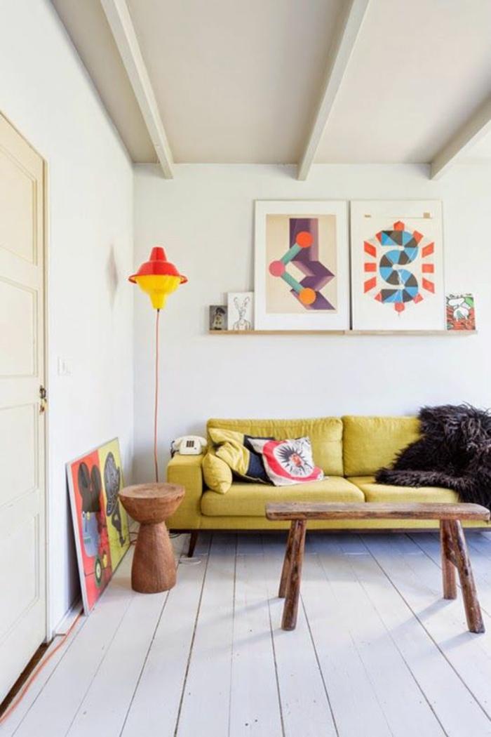 couch kaufen wohnzimmer möbel design sofa gelb