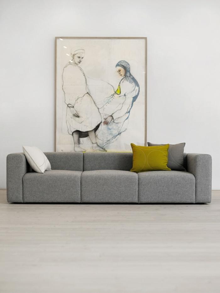 couch kaufen wohnzimmer möbel design sofa grau