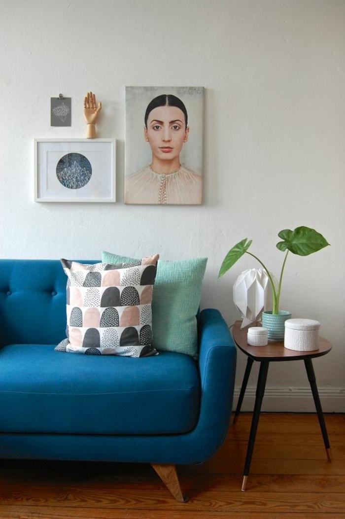 couch kaufen wohnzimmer möbel designer 2er sofa blau