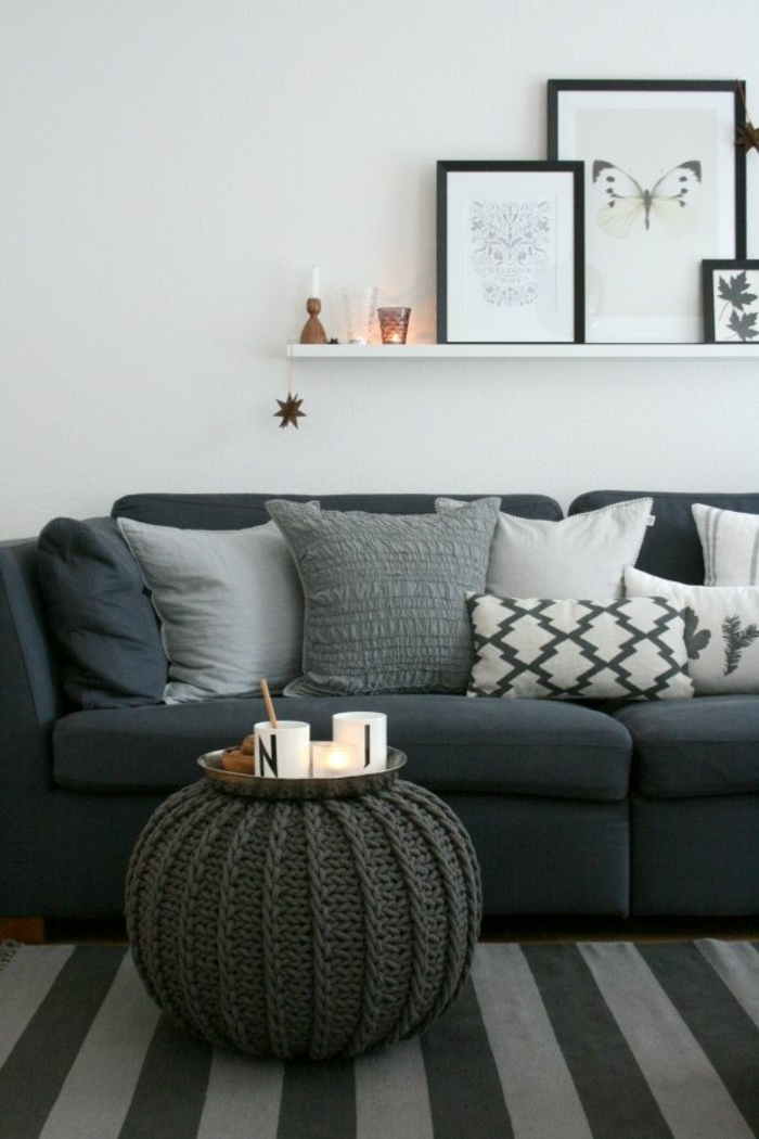 Ledercouch schwarz kissen  Couch kaufen: so können Sie diese Aufgabe hervorragend lösen