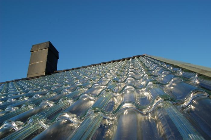 dachziegel kaufen satteldach glasziegel solarstrom
