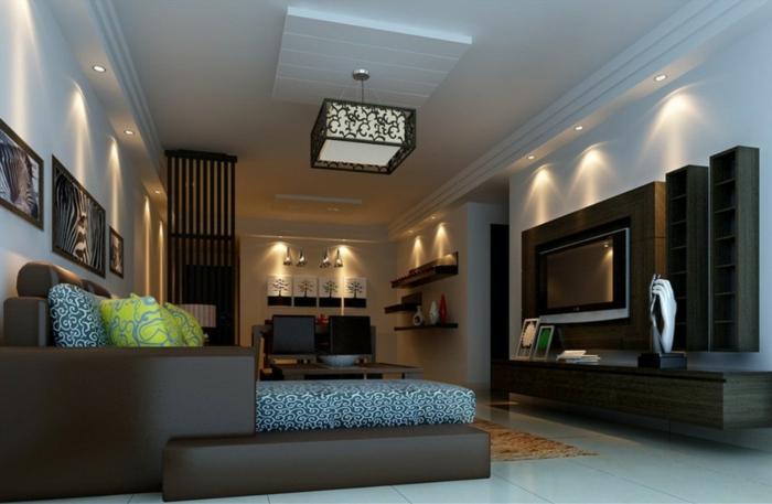 deckenbeleuchtung wohnzimmer - sollten es decken-, einbau- oder ... - Deckenbeleuchtung Wohnzimmer