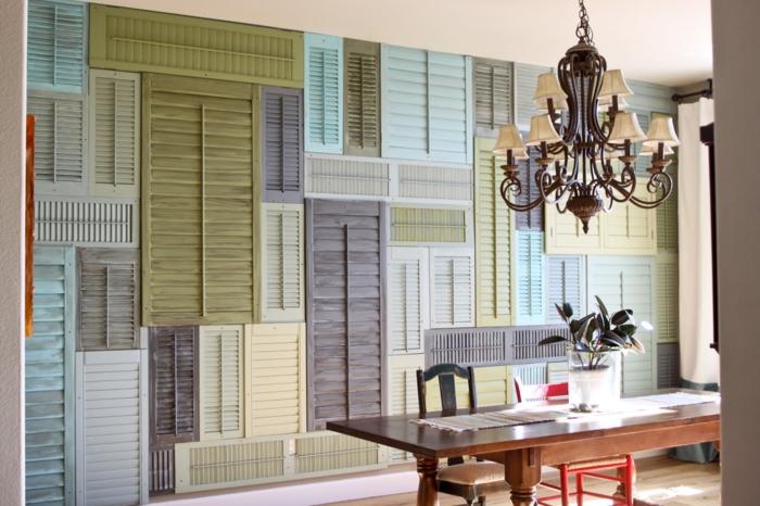 deko ideen selbermachen diy wanddekoration fensterlden - Fantastisch Wohnung Dekorieren Selber Machen