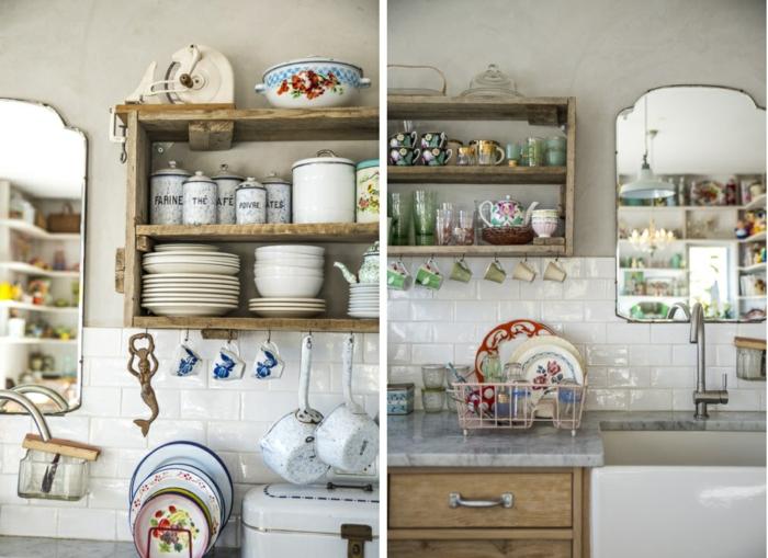 deko spiegel wandspiegel kleine küche