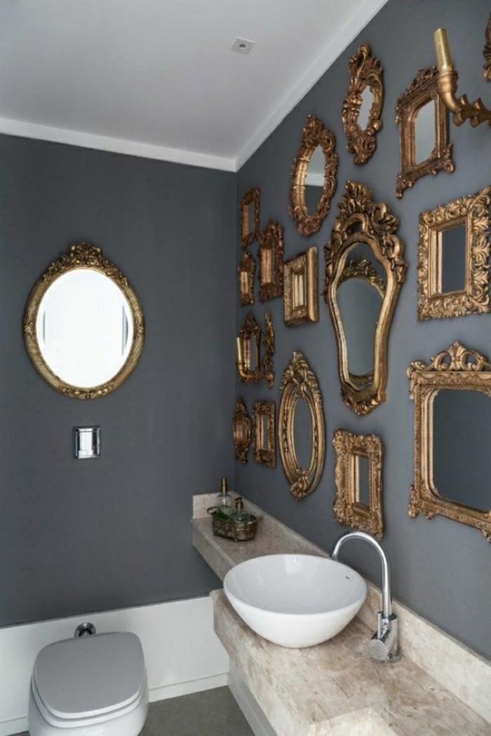deko spiegel wandspiegel rokoko stil wanddekoration