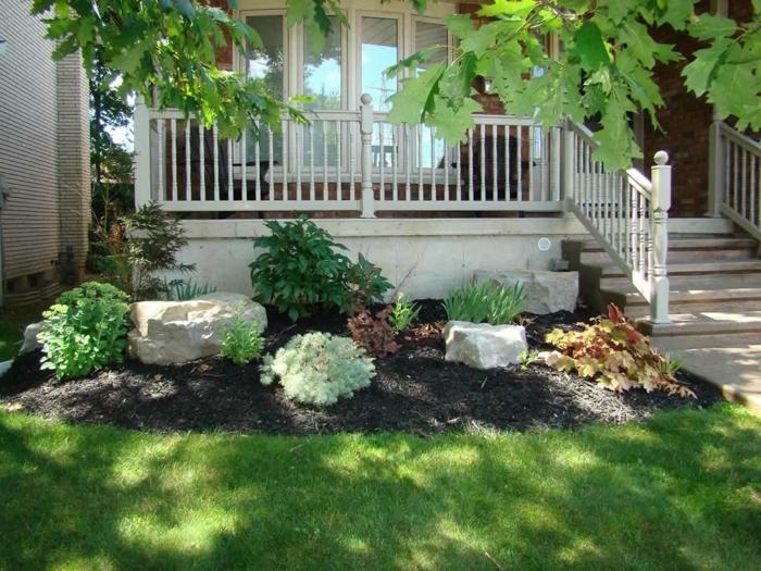 Dekosteine garten lassen den garten nat rlicher vorkommen for Garten steine schwarz