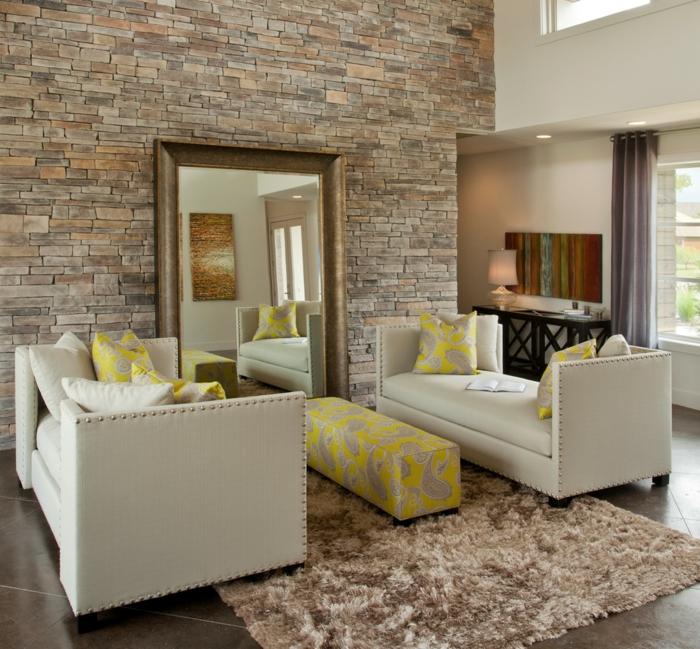 Dekosteine für Wand – Verkleiden Sie die Wände Ihrer Wohnung