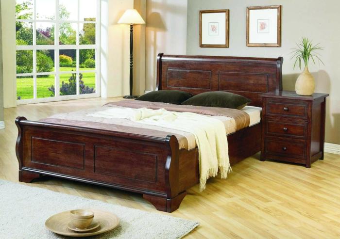 design betten doppelbett schlafkomfort edles holz