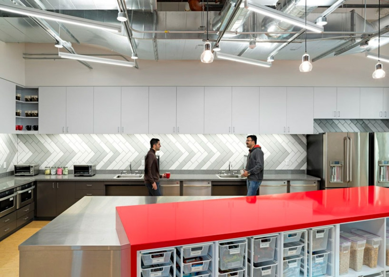design blitz comcast office küche hochmoderne büroeinrichtung