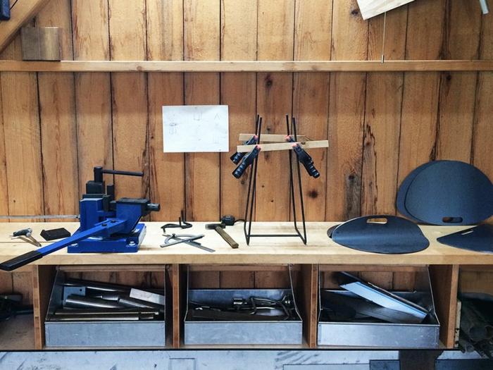 designer beistelltische R35 Kollektion Bonpart arbeitsprozess