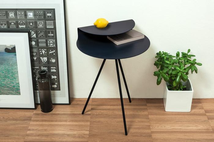 designer beistelltische R35 Kollektion Bonpart beistelltisch schwarz