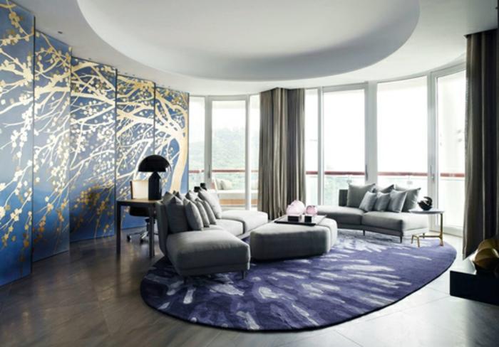 designer teppich ice international elegant oval
