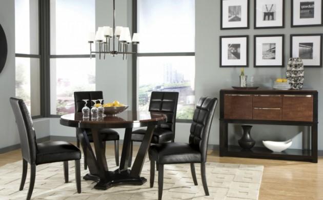 designer tische esszimmer. Black Bedroom Furniture Sets. Home Design Ideas
