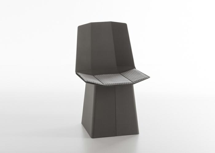 designermöbel origami stuhl linito grau designer yu ito