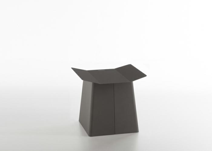 designermöbel origami stuhl linito grau hocker designer yu ito