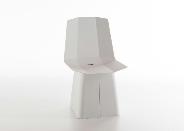 designermöbel origami stuhl linito weiß designer yu ito