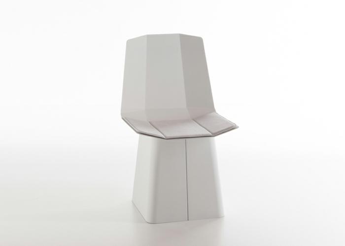 designermöbel origami stuhl linito weiß yu ito designer