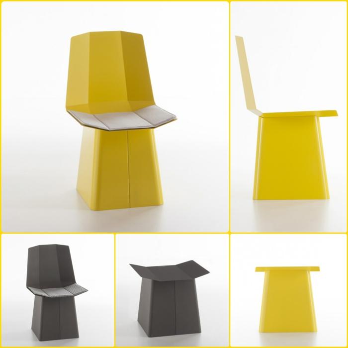 designermöbel origami stuhl linito yu ito