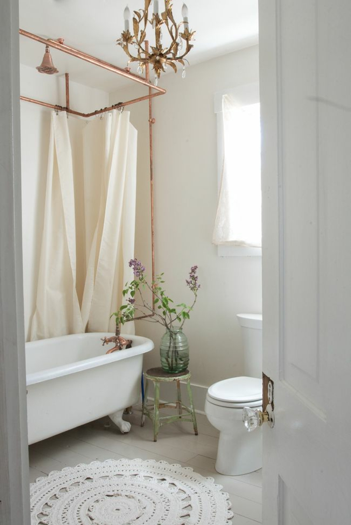 Copper Shower Curtain Rings