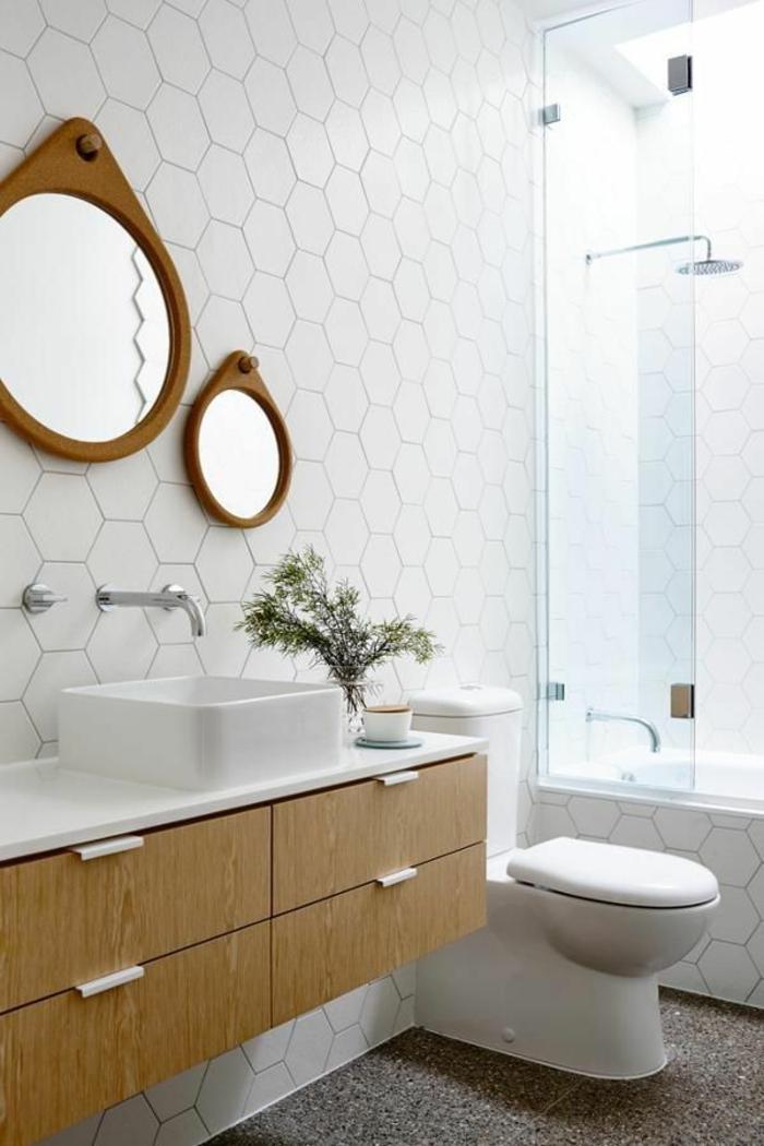 duscharmatur und moderne badmöbel badezimmerarmatur