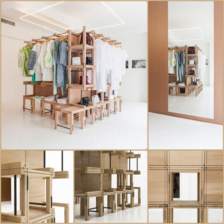 emma kleiderschrank system vom designer elie metni f r. Black Bedroom Furniture Sets. Home Design Ideas