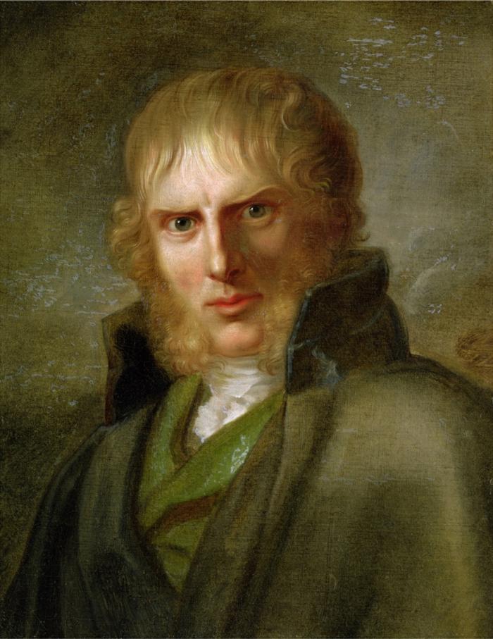 epoche romantik kunst Caspar David Friedrich portrait