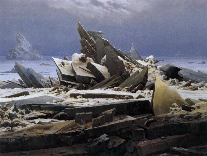 epoche romantik kunst Caspar David Friedrich
