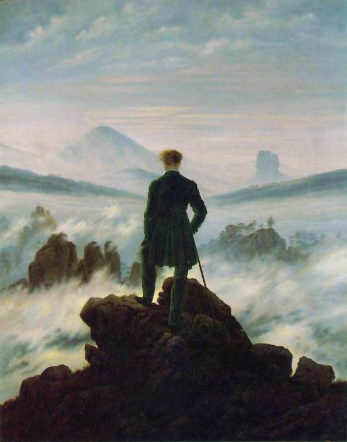 epoche romantik kunst von Caspar David Friedrich