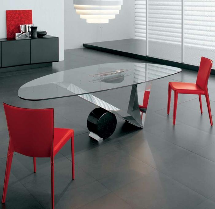 esstisch design ovale form speisezimmer gestalten